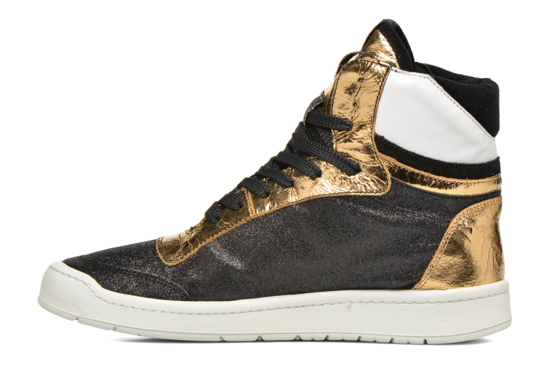 Sneaker Serafini San Diego II schwarz ansicht von vorne