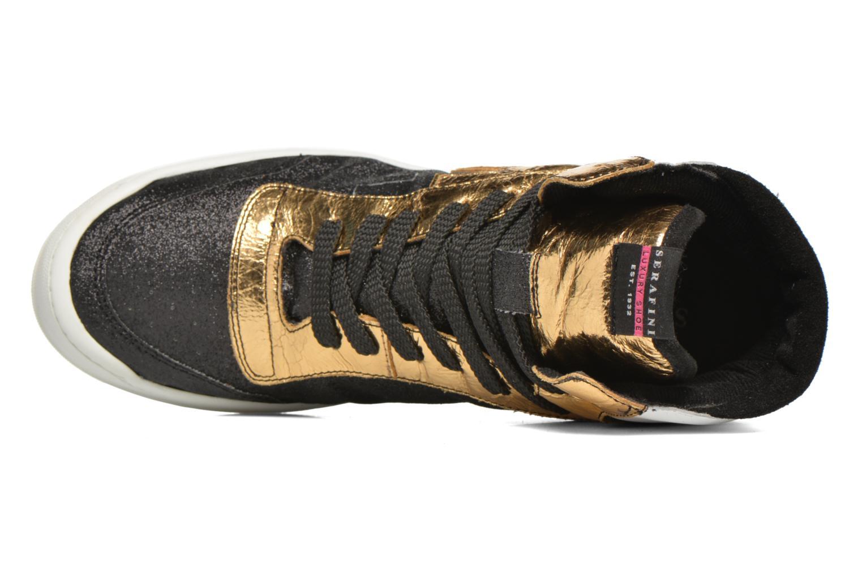 Sneaker Serafini San Diego II schwarz ansicht von links