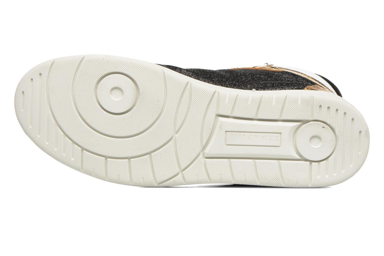 Sneaker Serafini San Diego II schwarz ansicht von oben
