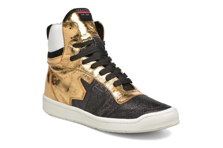 Sneaker Serafini San Diego II schwarz detaillierte ansicht/modell