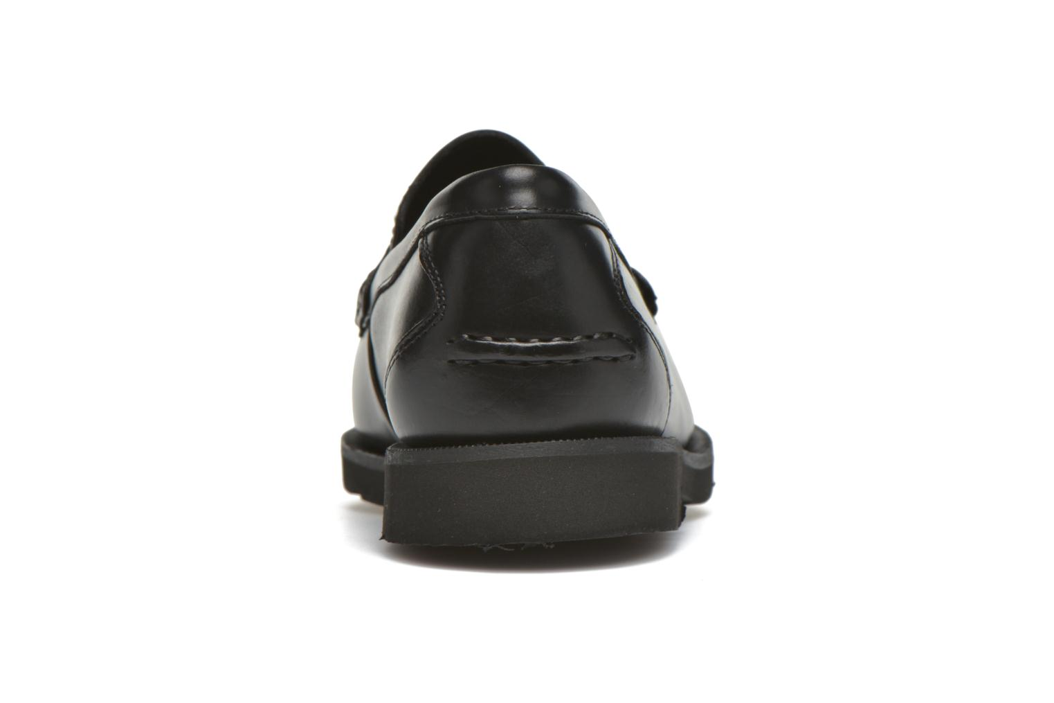 Mocasines Rockport Penny Loafer Negro vista lateral derecha