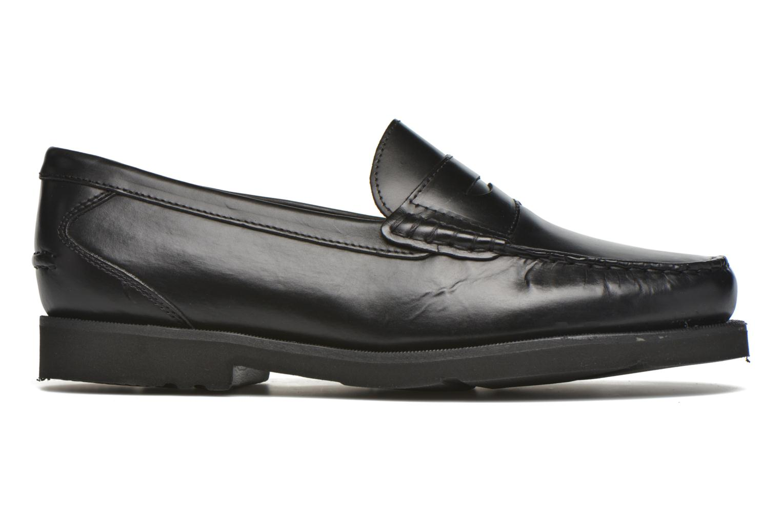 Mocasines Rockport Penny Loafer Negro vistra trasera