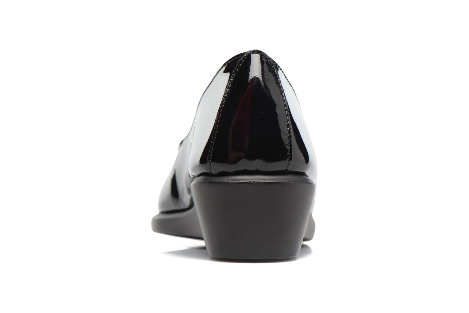 Mocasines Aerosoles Four Williams Negro vista lateral derecha