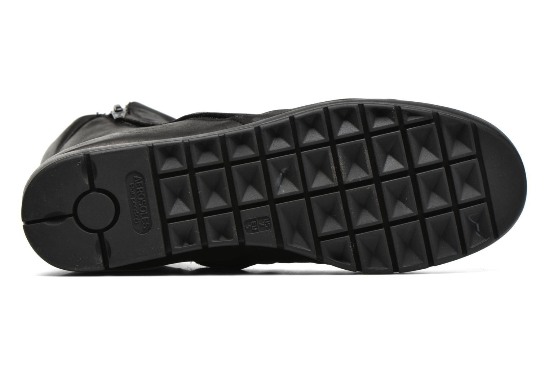Bottines et boots Aerosoles Move Up Noir vue haut
