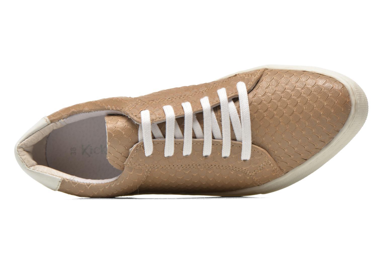 Sneaker Kickers Lucie beige ansicht von links