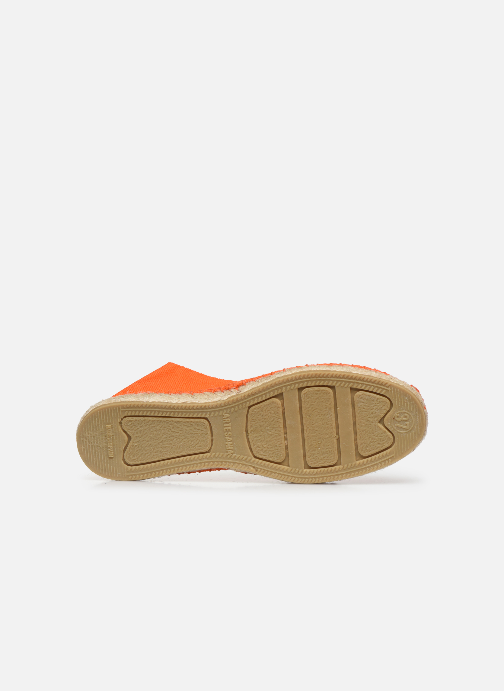 Espadrilles Pare Gabia VP Unies Smu F Orange vue haut