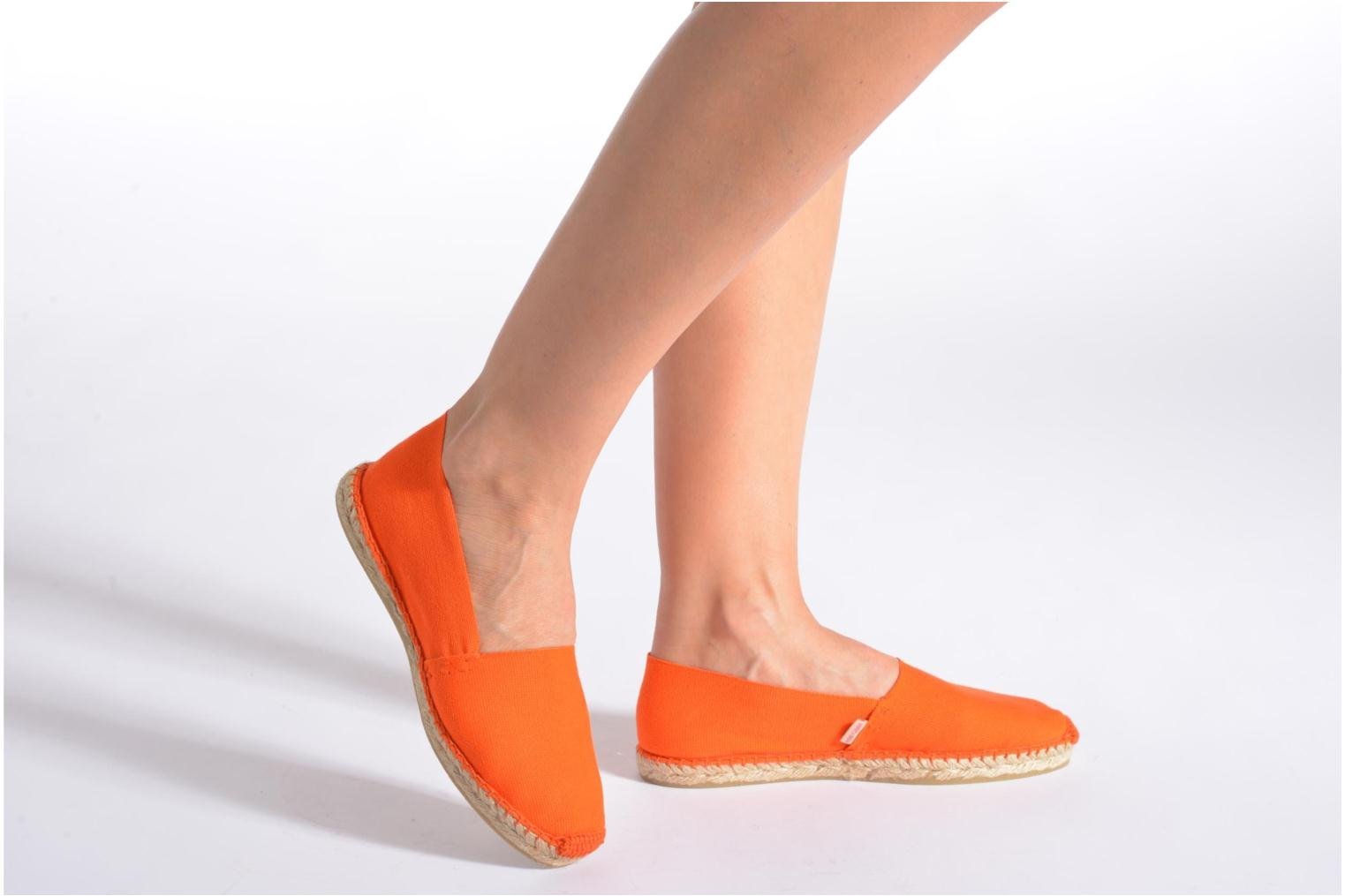 Espadrilles Pare Gabia VP Unies Smu F Pink view from underneath / model view