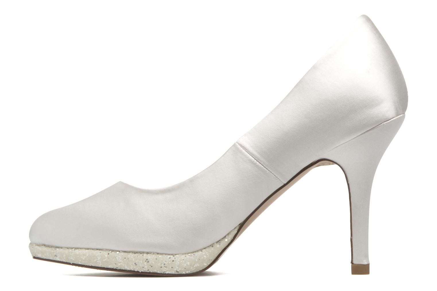 High heels Menbur Cecilia White front view