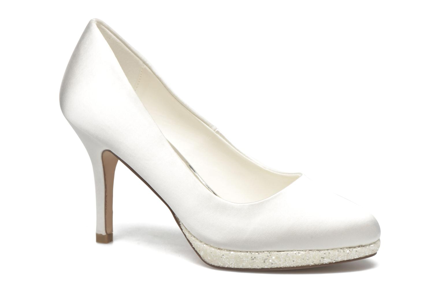 High heels Menbur Cecilia White detailed view/ Pair view