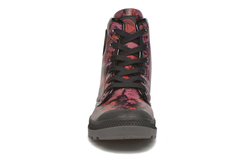 Bottines et boots Palladium Pampa HI Flo F Bordeaux vue portées chaussures