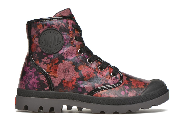 Bottines et boots Palladium Pampa HI Flo F Bordeaux vue derrière