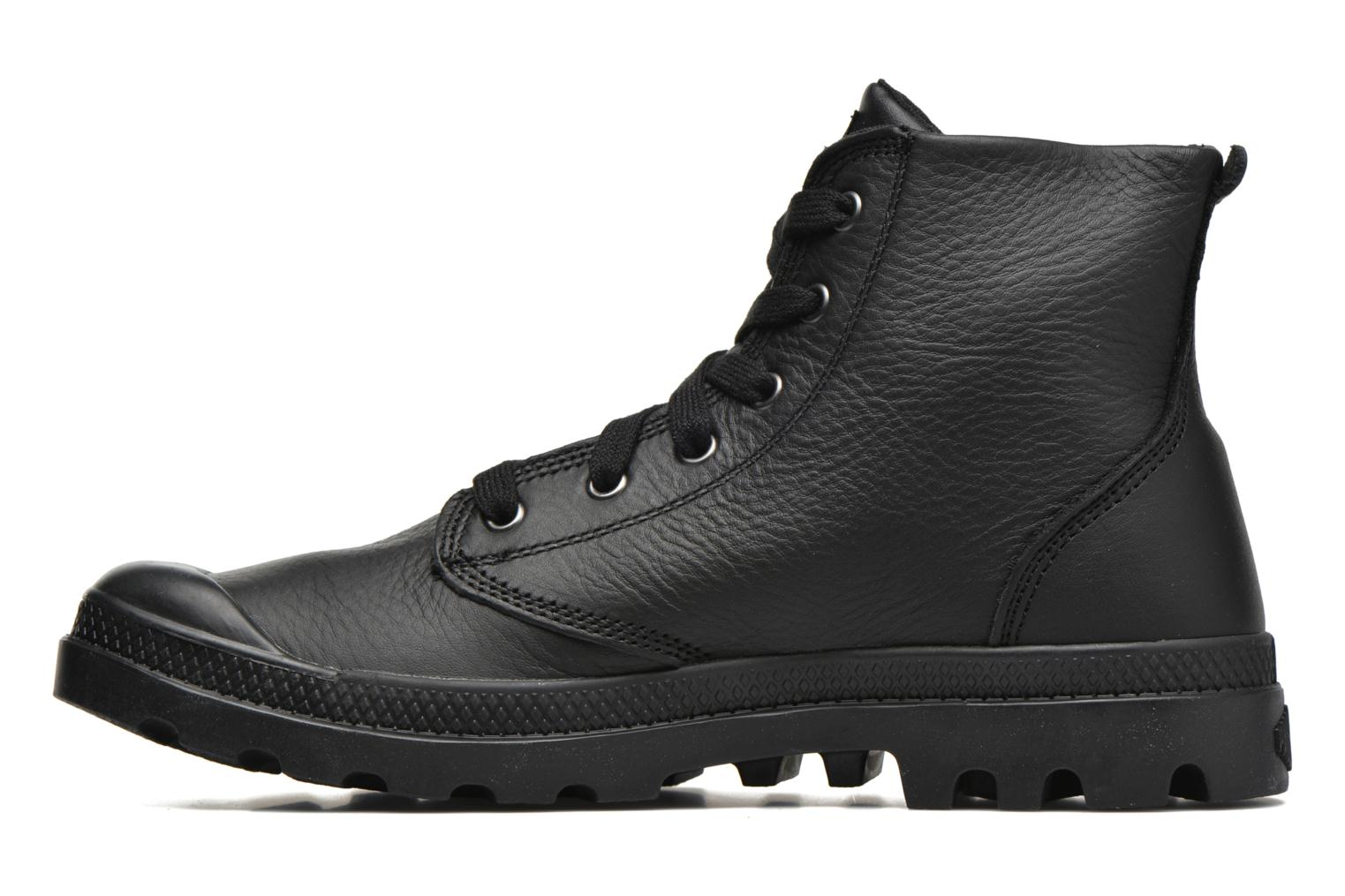 Bottines et boots Palladium Pampa Hi VL H Noir vue face