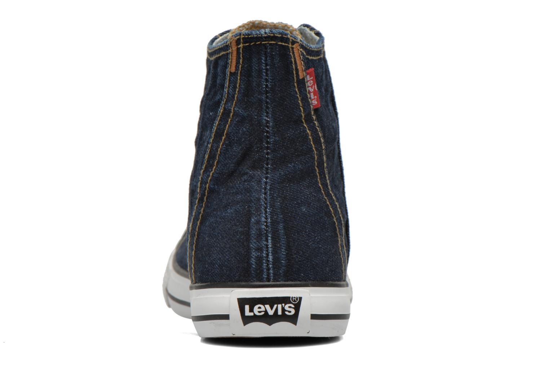 Baskets Levi's Original Red Tab Sneaker High Bleu vue droite
