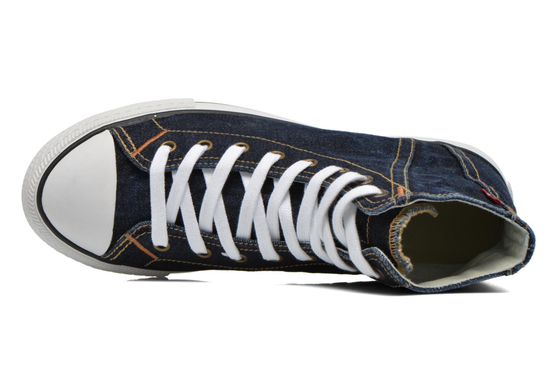 Baskets Levi's Original Red Tab Sneaker High Bleu vue gauche