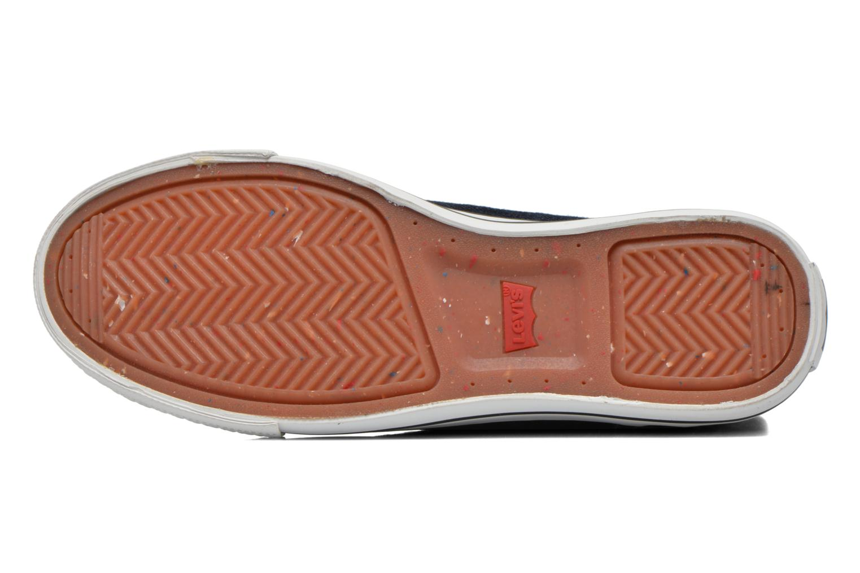 Baskets Levi's Original Red Tab Sneaker High Bleu vue haut