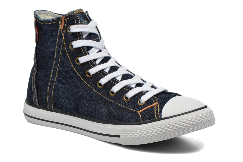 Baskets Levi's Original Red Tab Sneaker High Bleu vue détail/paire