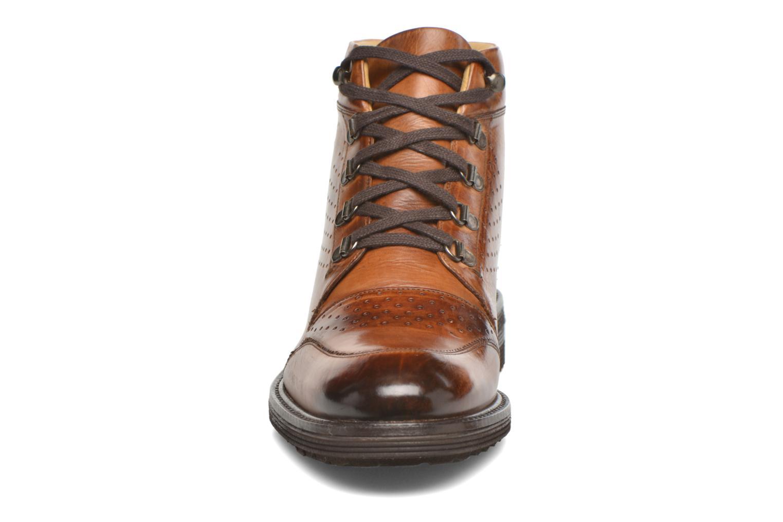 Boots Melvin & Hamilton Trevor 5 Brun bild av skorna på