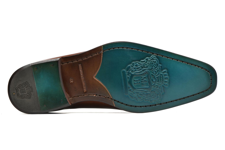 Clark 13 Crust tan Toe E blue LS