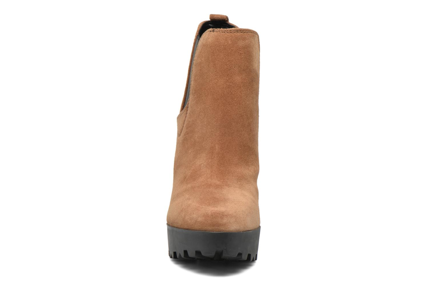 Ankle boots Guess Marelle Brown model view
