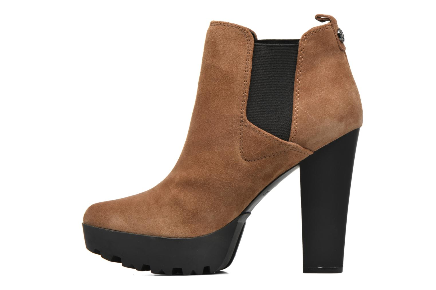 Ankle boots Guess Marelle Brown front view