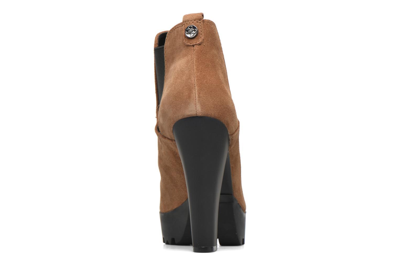 Bottines et boots Guess Marelle Marron vue droite