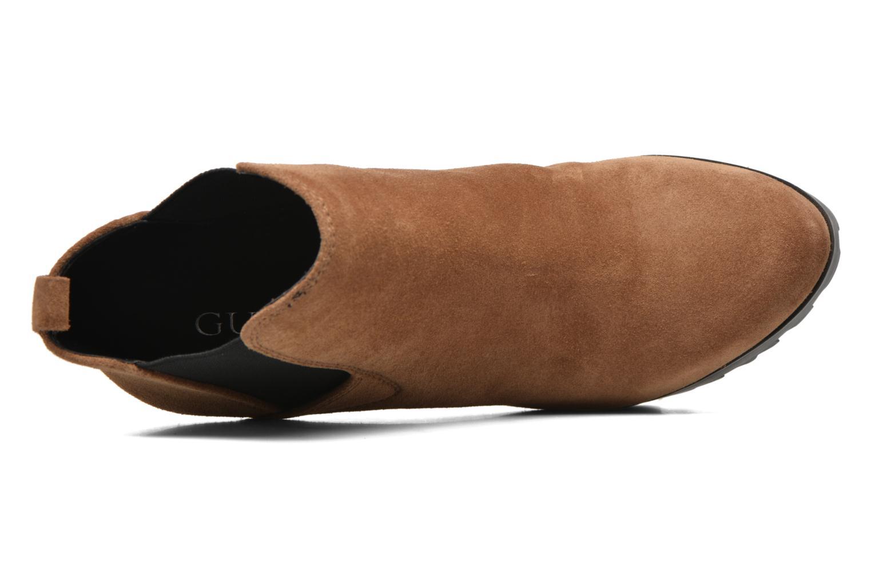 Bottines et boots Guess Marelle Marron vue gauche