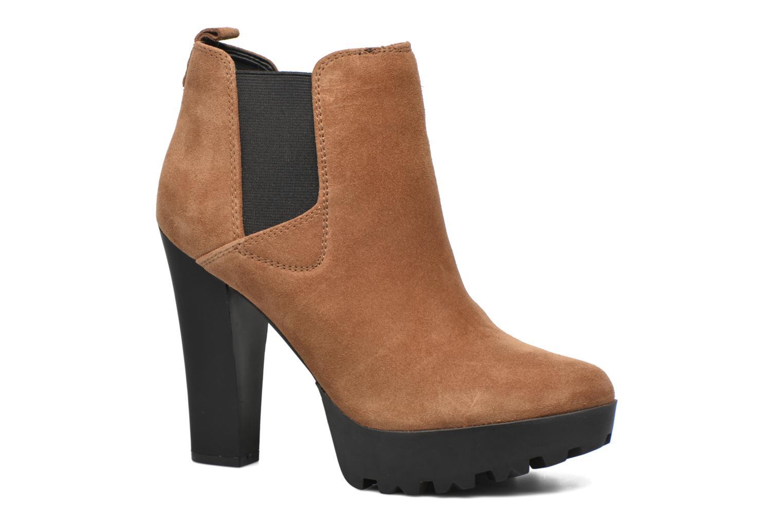 Bottines et boots Guess Marelle Marron vue détail/paire