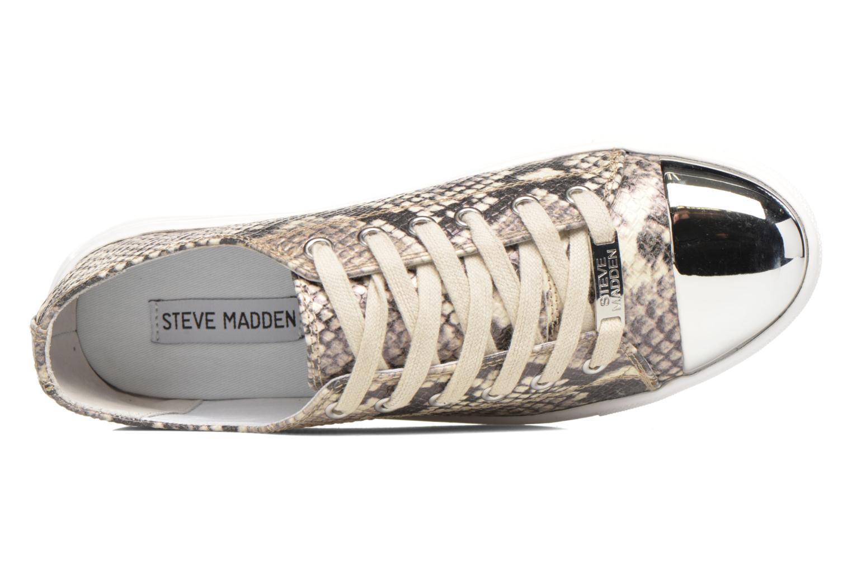 Sneaker Steve Madden Clydd-R beige ansicht von links
