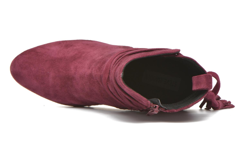 Boots en enkellaarsjes Steve Madden Glorria Bordeaux links