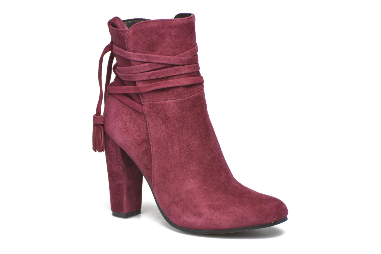 Bottines et boots Steve Madden Glorria Bordeaux vue détail/paire