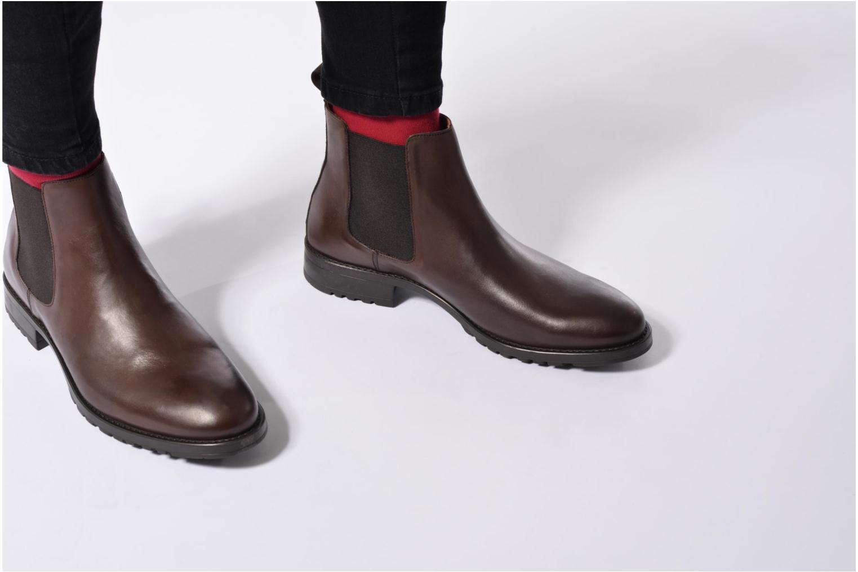 Stiefeletten & Boots Marvin&Co Ahsford blau ansicht von unten / tasche getragen