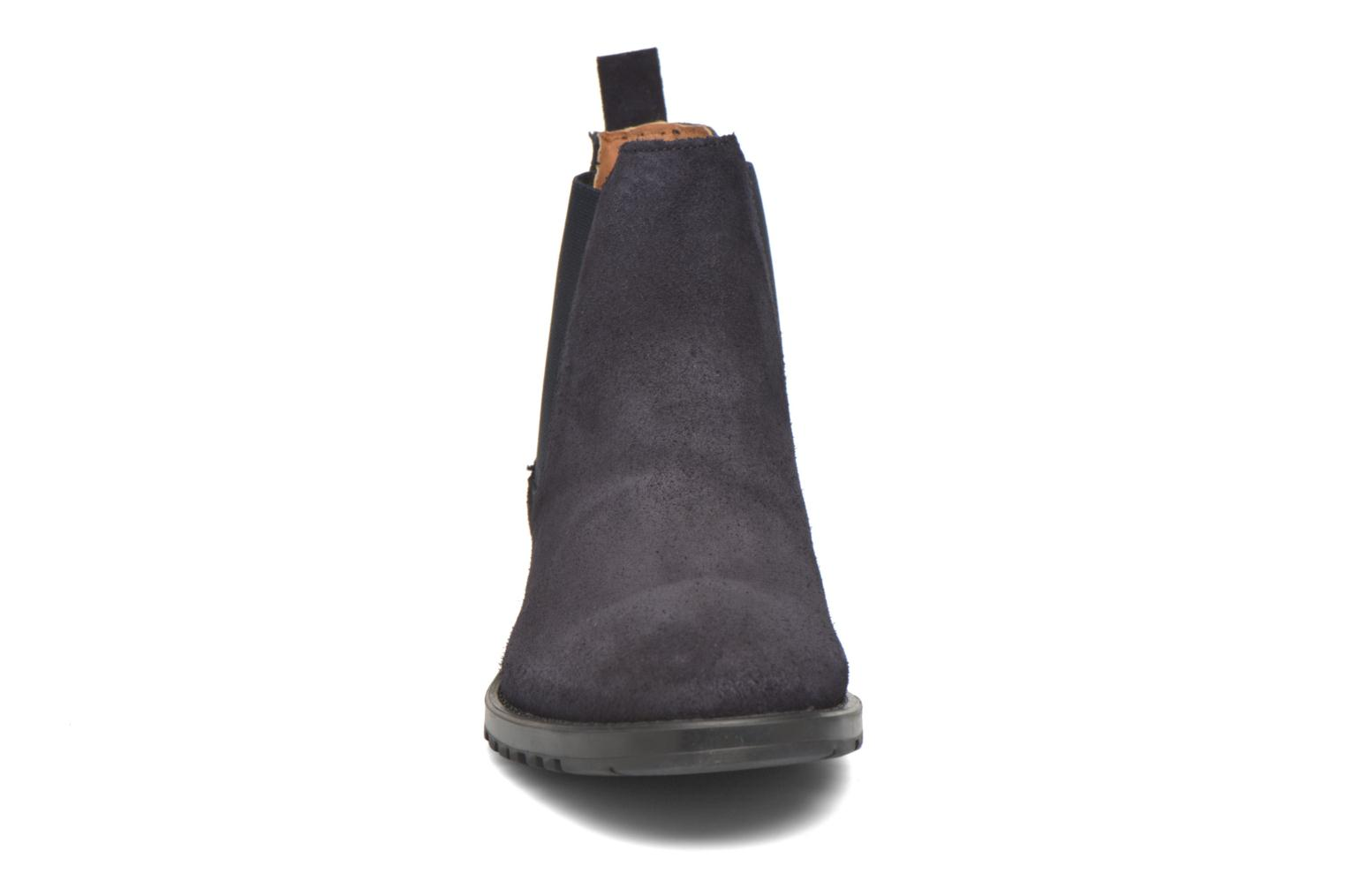 Ankle boots Marvin&co Ahsford Blue model view