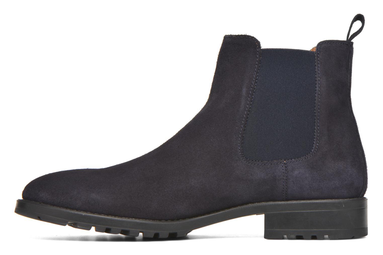 Ahsford Velour Leather Cam navy