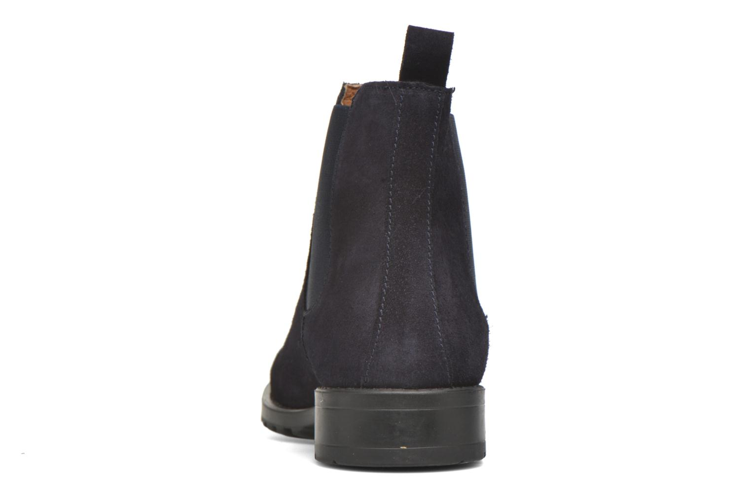 Ankle boots Marvin&co Ahsford Blue view from the right