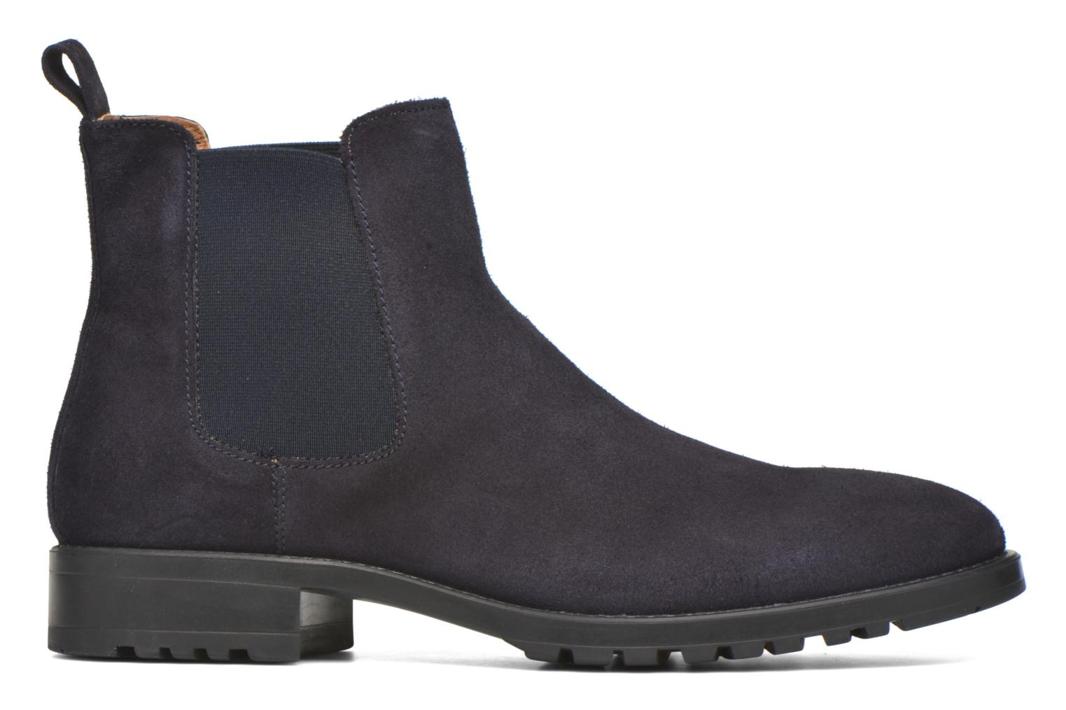 Ankle boots Marvin&co Ahsford Blue back view