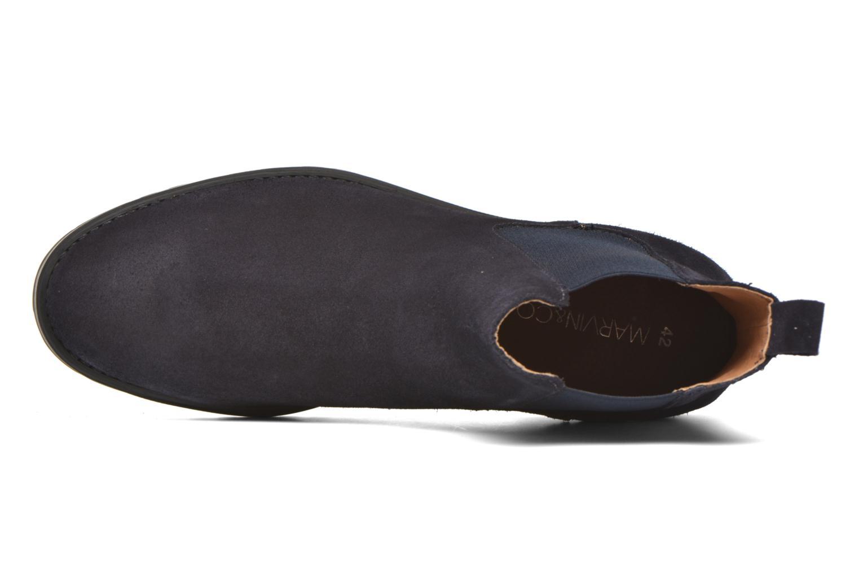 Bottines et boots Marvin&Co Ahsford Bleu vue gauche