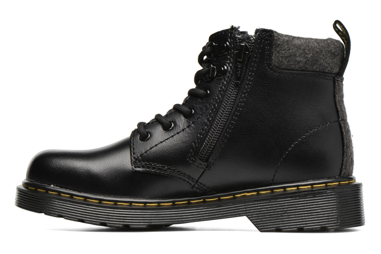 Bottines et boots Dr. Martens Juniors Padley Mix Padded Collar Boot Noir vue face