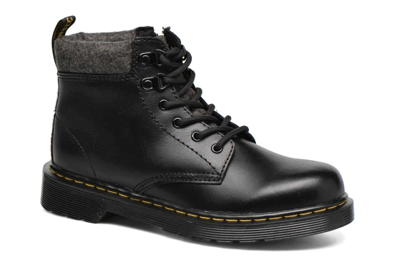 Stiefeletten & Boots Dr. Martens Juniors Padley Mix Padded Collar Boot schwarz detaillierte ansicht/modell