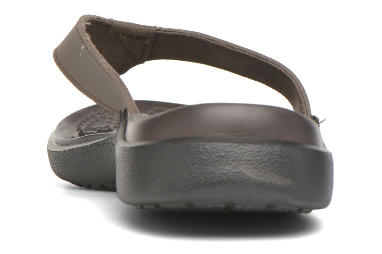 Tongs Crocs Crete Colorlite Flip M Noir vue droite