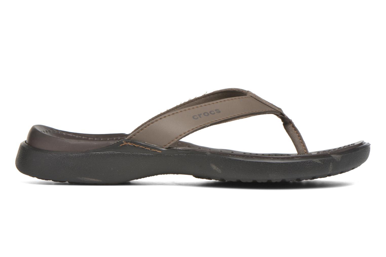 Tongs Crocs Crete Colorlite Flip M Noir vue derrière