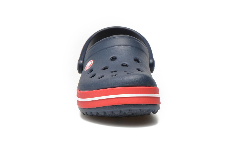 Sandalen Crocs Crocsband Kids blau schuhe getragen