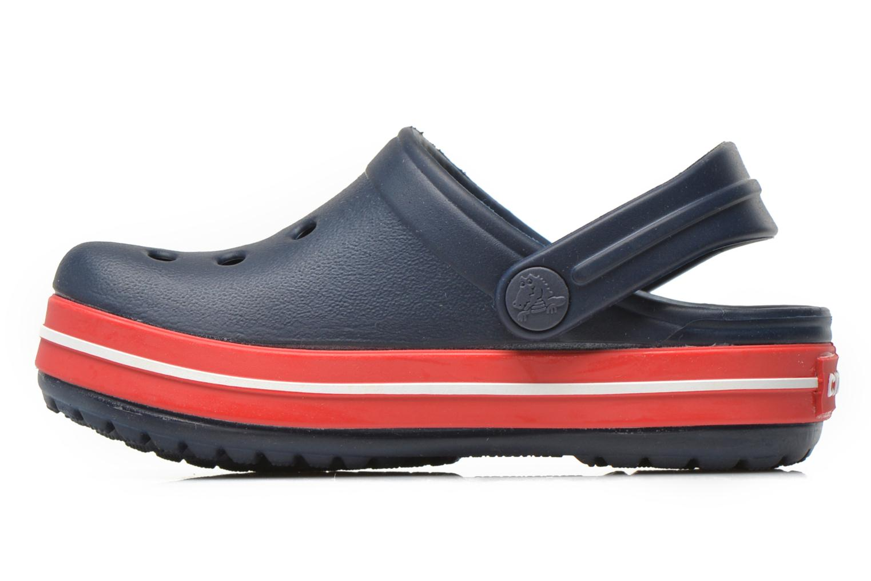 Sandalen Crocs Crocsband Kids blau ansicht von vorne