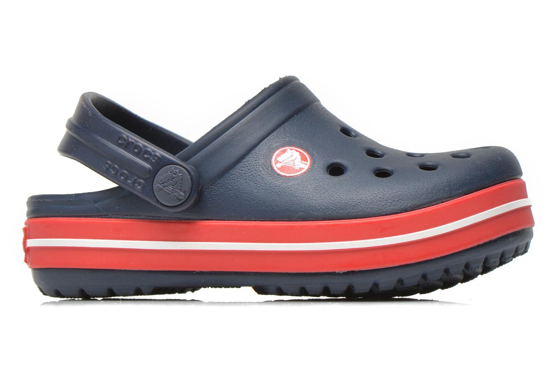 Sandalen Crocs Crocsband Kids blau ansicht von hinten