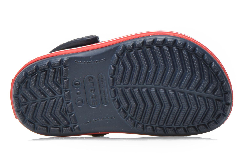 Sandalen Crocs Crocsband Kids blau ansicht von oben