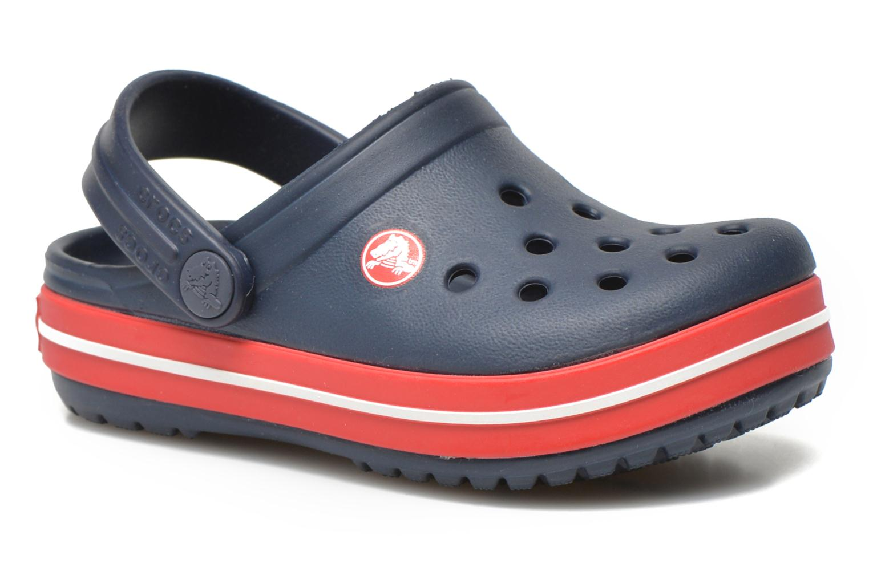 Sandals Crocs Crocsband Kids Blue detailed view/ Pair view