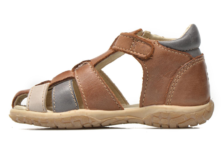 Sandals Noël Mini Taro Brown front view