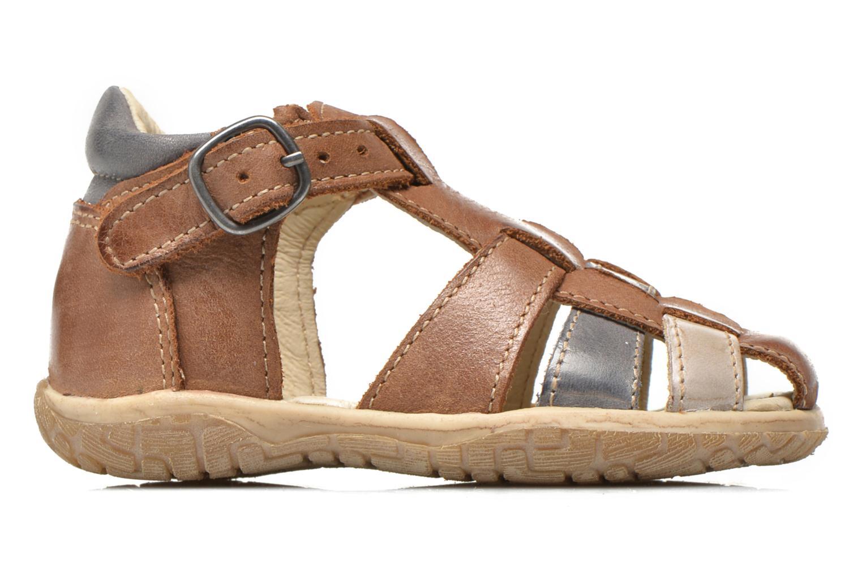 Sandals Noël Mini Taro Brown back view