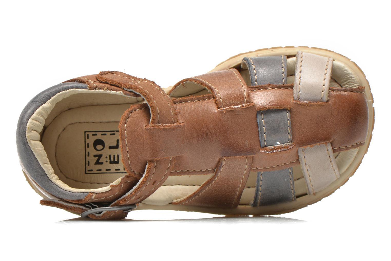 Sandalen Noël Mini Taro braun ansicht von links