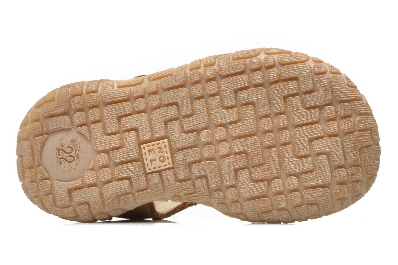 Sandalen Noël Mini Taro braun ansicht von oben