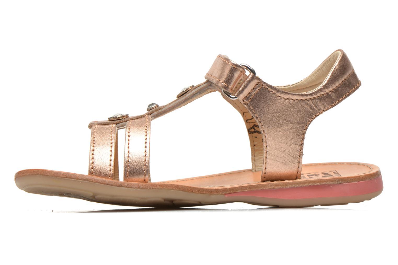 Sandals Noël Solène Pink front view